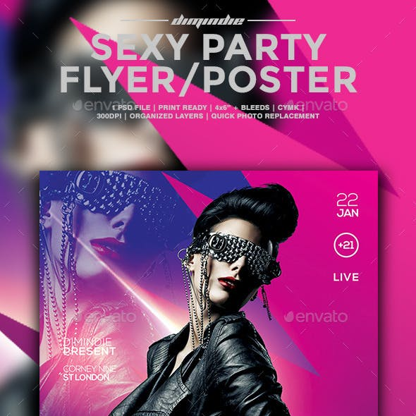Sexy Flyer Template Vol II