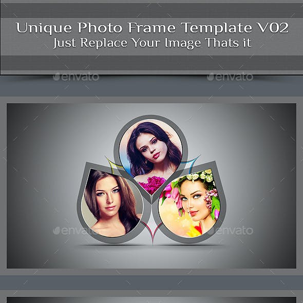 Unique Photo Frame Template V02