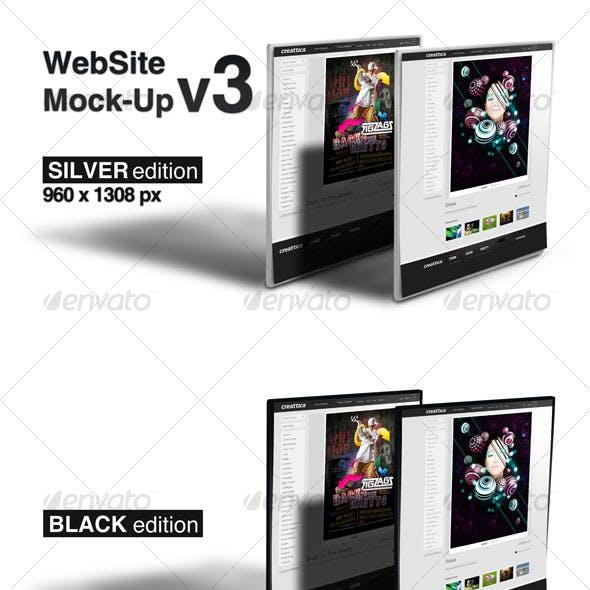 WebSite Mock-Up v3