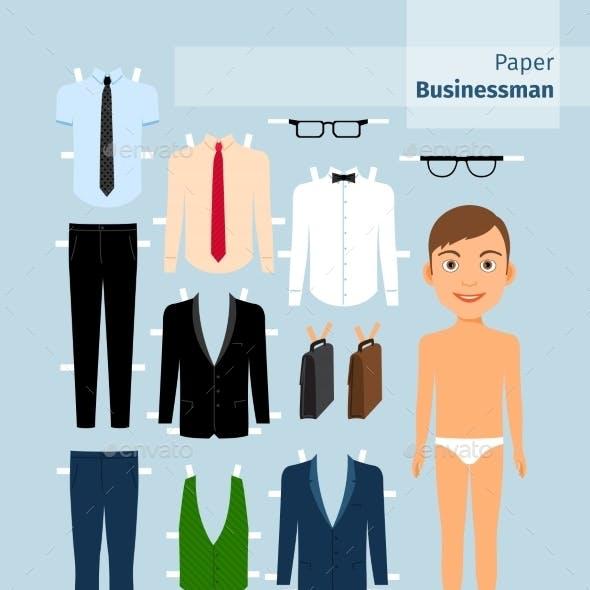 Paper Businessman