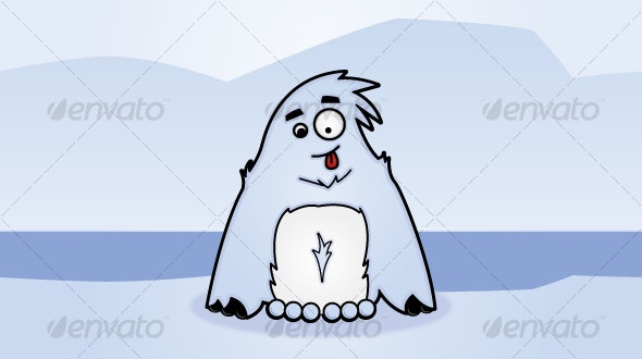 Yeti - Abominable Snowman - Monsters Characters