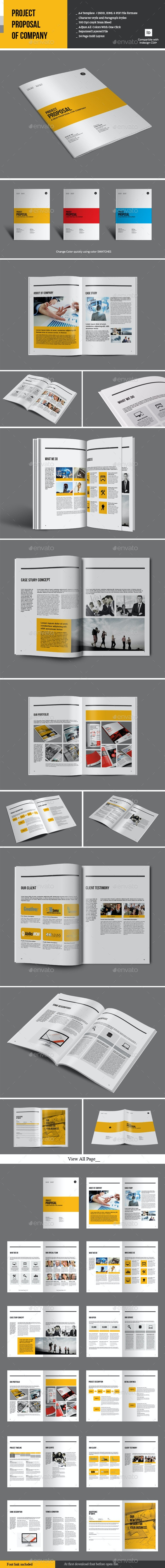 Project Proposal of Company - Proposals & Invoices Stationery