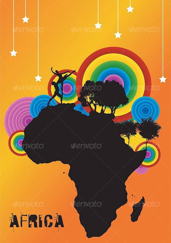 Rainbow Couple Dance  -  AFRICA - Weddings Seasons/Holidays