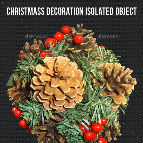 Christmass Decoration Isolated Object