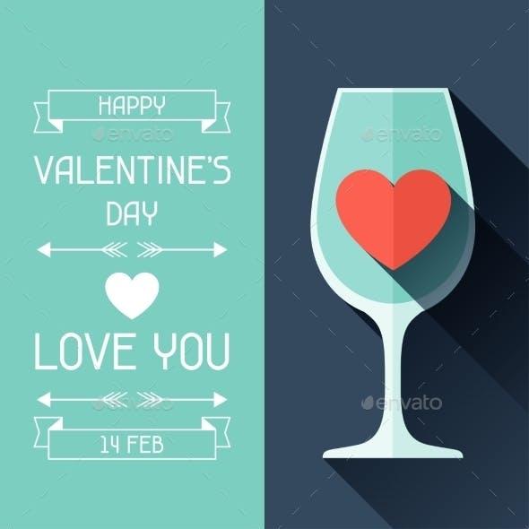 Happy Valentine's Illustration