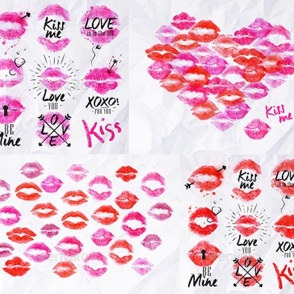 Prints of Lips
