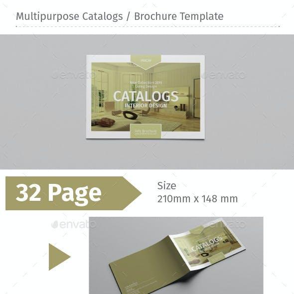 Multipurpose Catalogs / Brochure Template