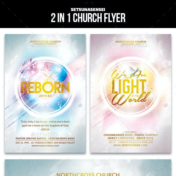 Reborn Church Flyer