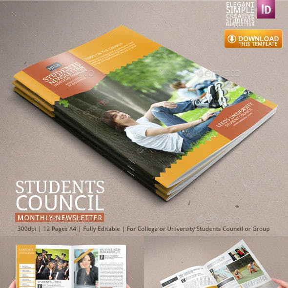 Two Student Newsletter