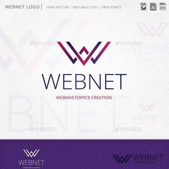 Webnet Letter W Logo Template