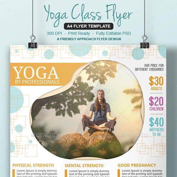 Yoga Studio Flyer