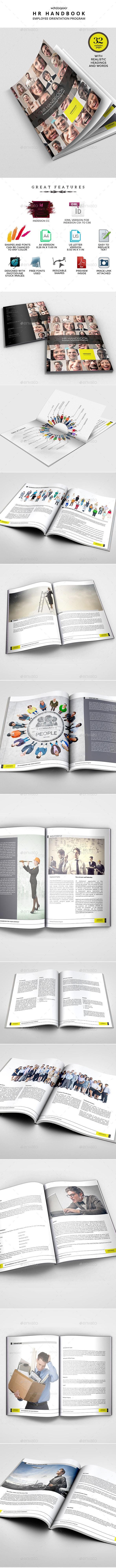 HR and Employee Handbook - Miscellaneous Print Templates