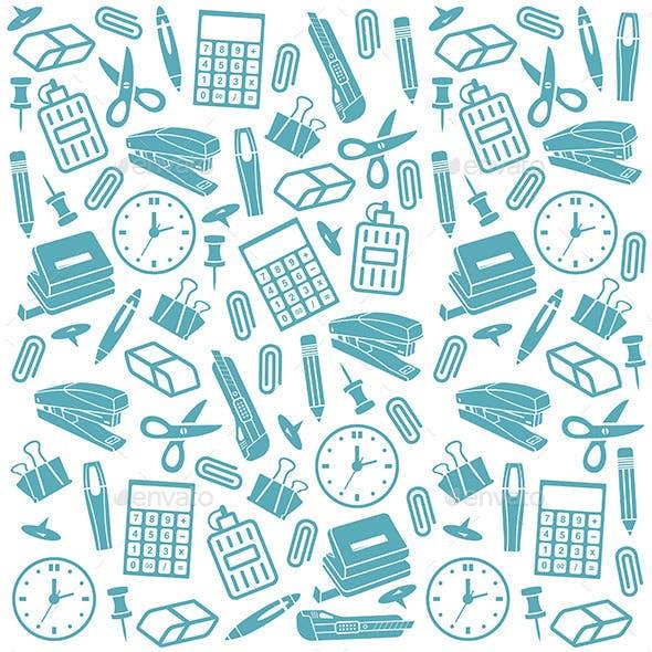 Office Supplies Background