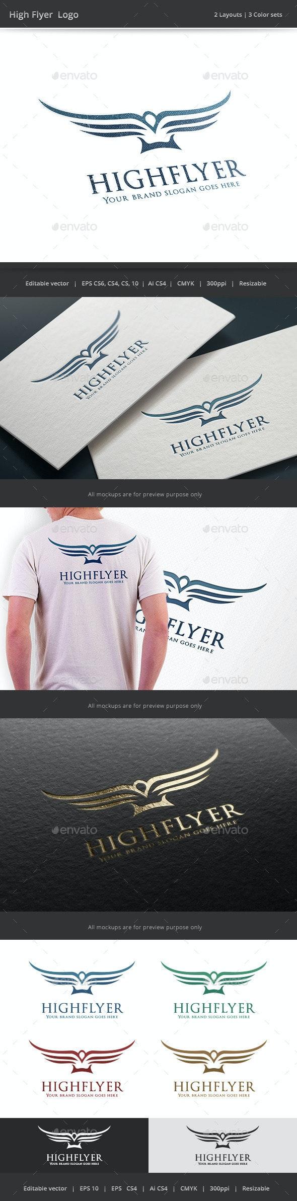 High Flyer Bird Logo