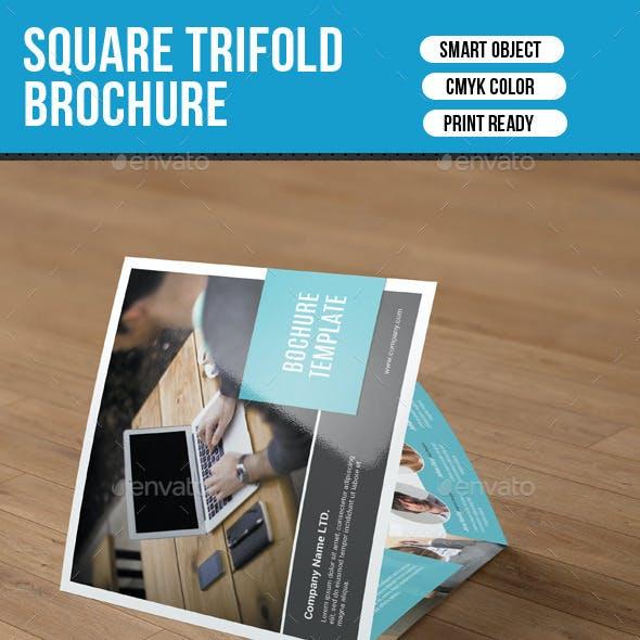 Corporate Square Trifold Brochure-V55