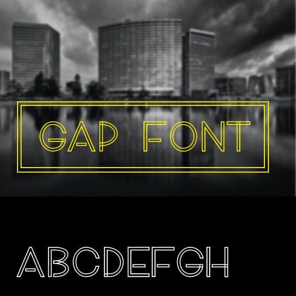 Gap Font