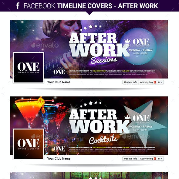 Facebook Timeline Covers - After Work