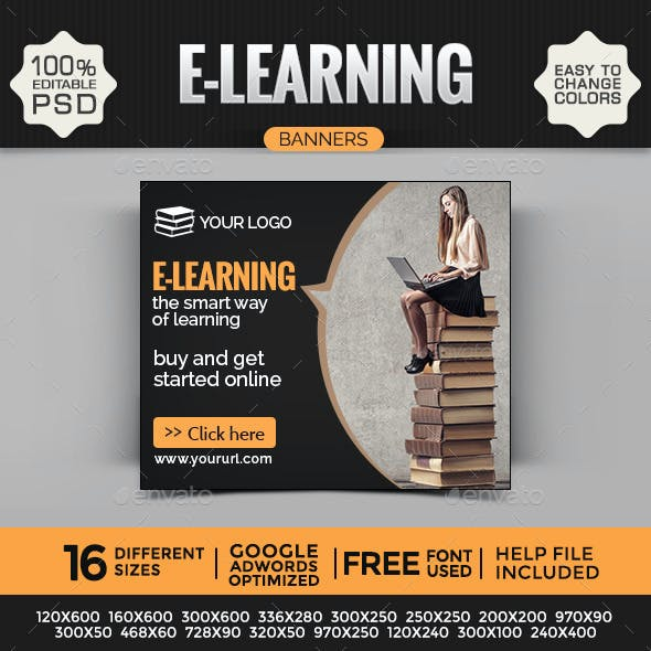 E-Learning Banners