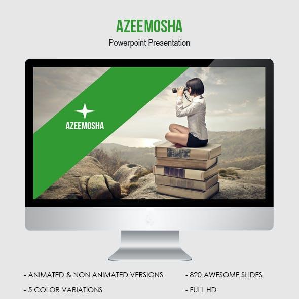 Azeemosha - Powerpoint Presentation Template