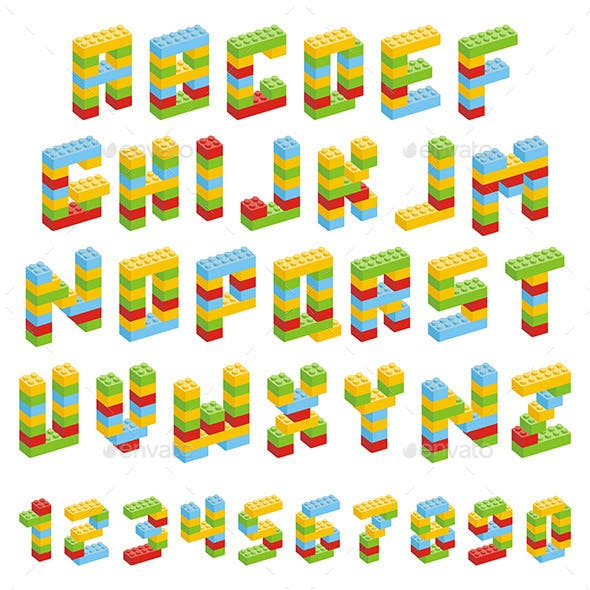 Toy Block Alphabet