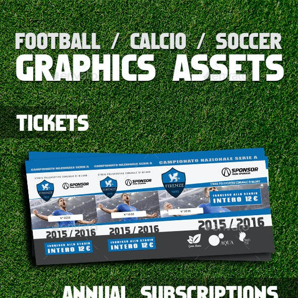 Soccer / Calcio / Football Image Assets