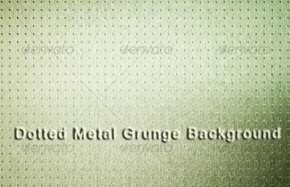 Grunge Dotted Metal - Metal Textures