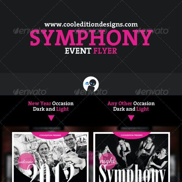 Symphony Event Flyer