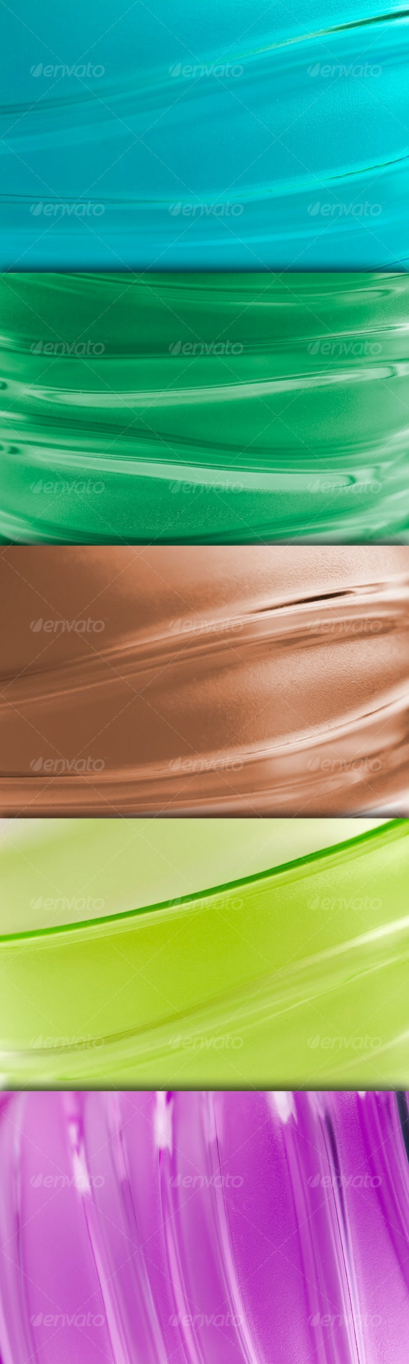 Glossy Abstract Wave Wallpaper  - Abstract Backgrounds