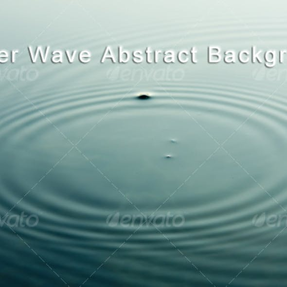 Water Wave Abstract