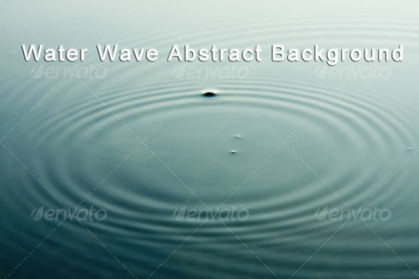Water Wave Abstract - Liquid Textures