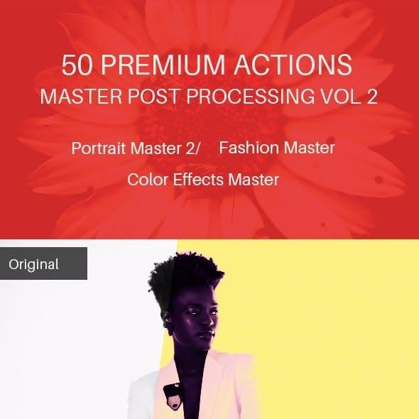 50 Premium Actions Master Post Processing Vol 2