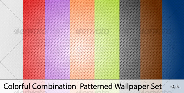 Color Comb. - Patterns Backgrounds