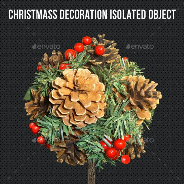 Christmass Decoration Isolated Object V2