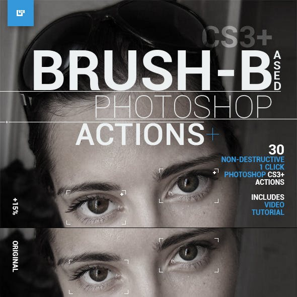 Brush-Based Photoshop Actions