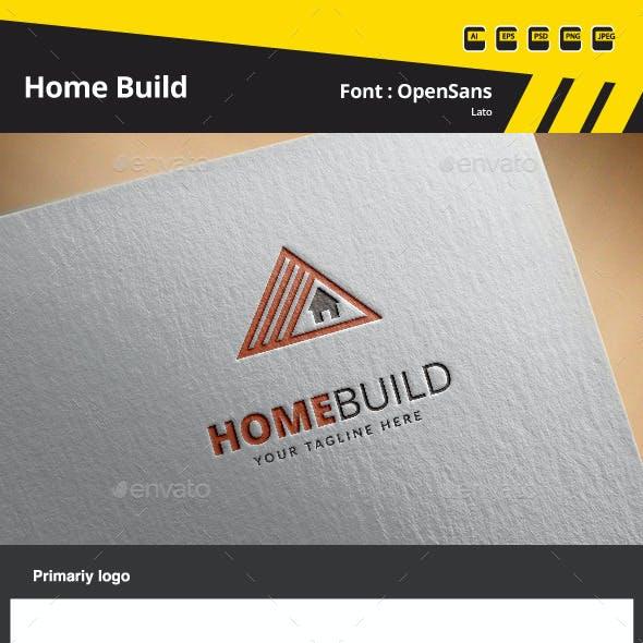Home Build Logo Template