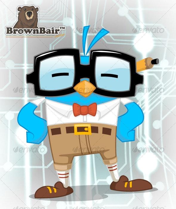Twitter Personalities - Nerd - Characters Illustrations