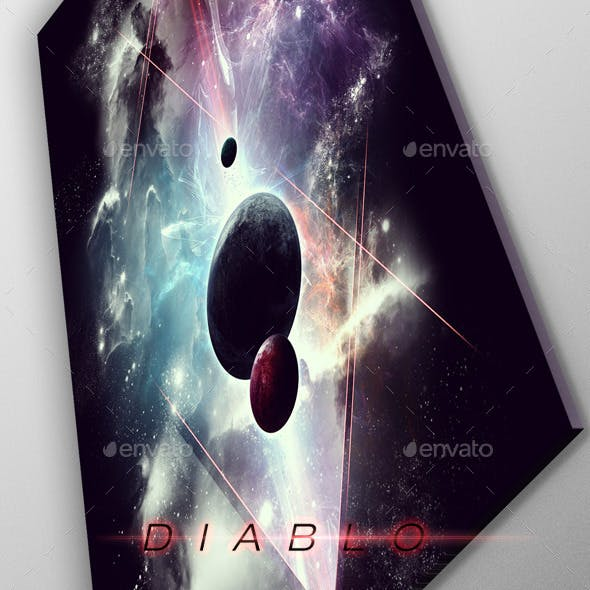 Diablo Space Art - Poster