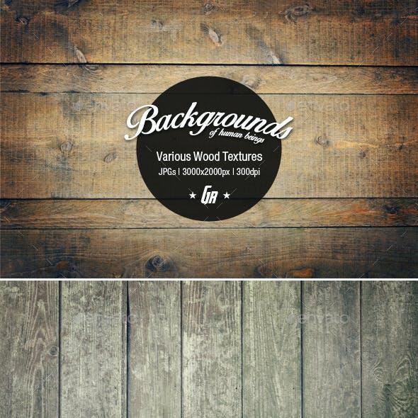 5 Wood Textures 02 - Wooden Backgrounds