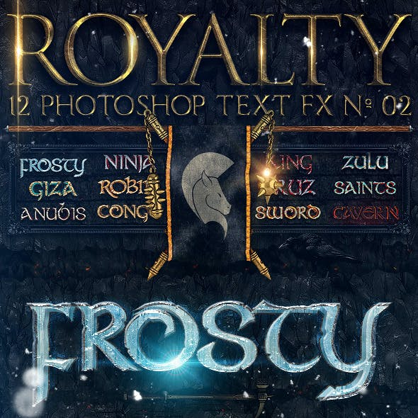 Royalty Photoshop Text FX Vol 02