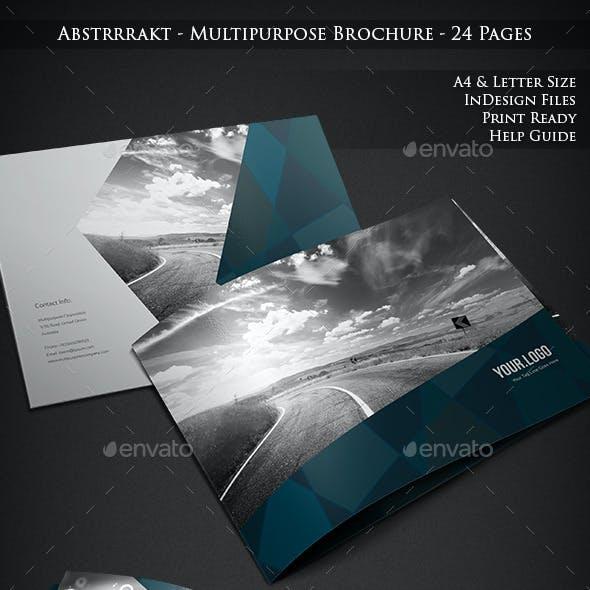 Abstrrrakt - Multipurpose Brochure - 24 Pages