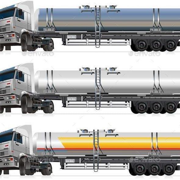 Tanker Semi-Trucks