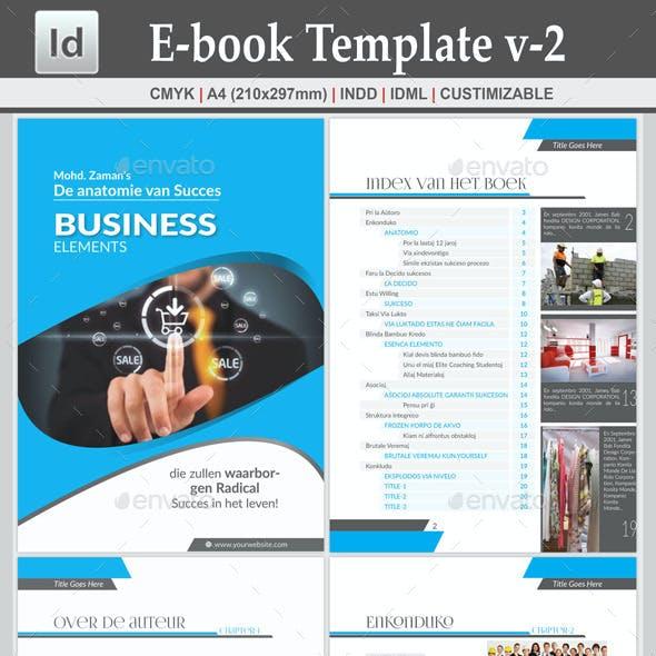 E-book Template v-2