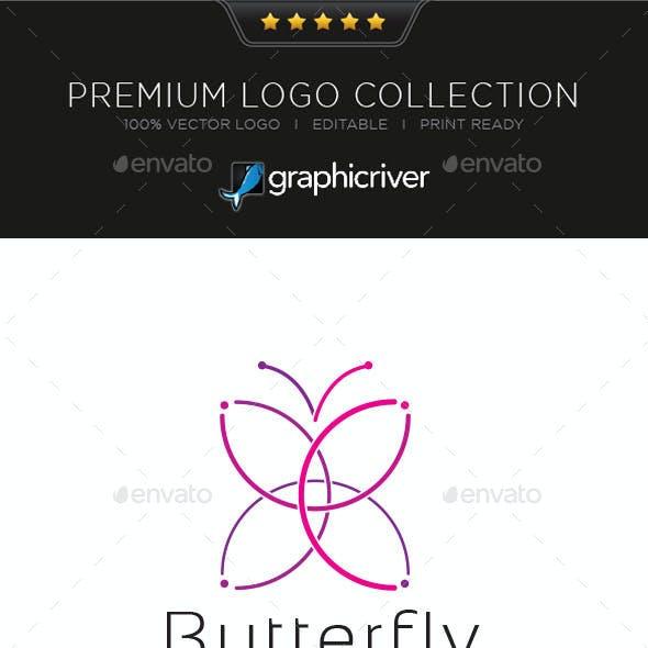 Butterfly Logo Symbol