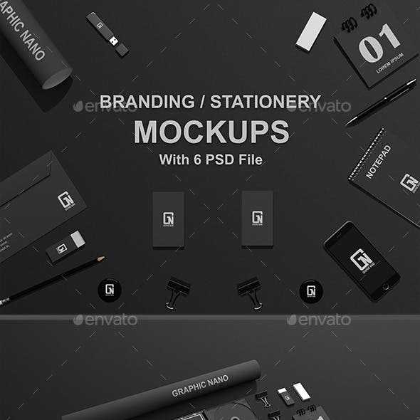 Branding / Stationery Mock-Ups