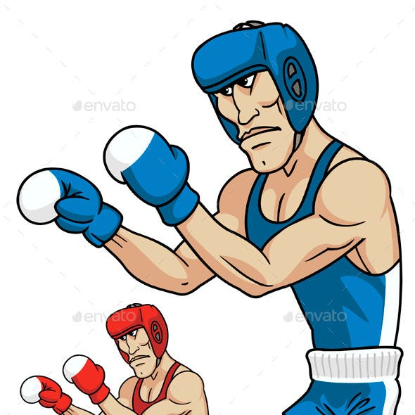 Cartoon Boxers