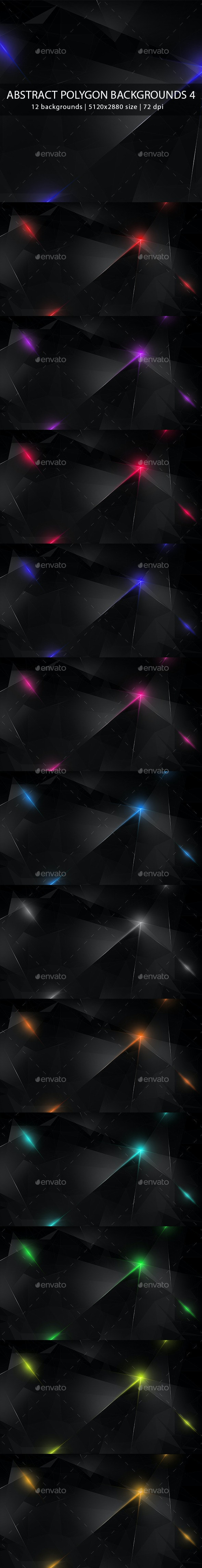 Abstract Polygon Backgrounds 4 - Abstract Backgrounds