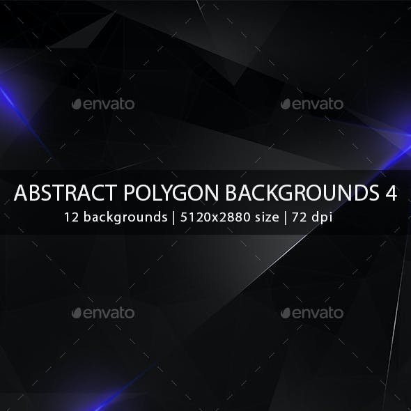 Abstract Polygon Backgrounds 4