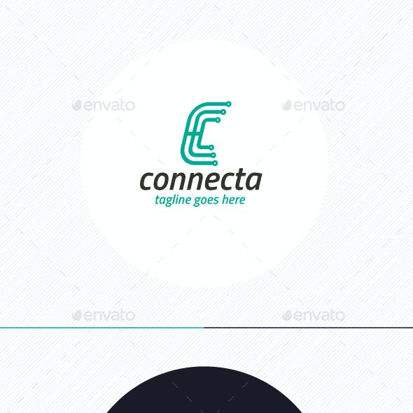 Connecta Logo • Letter C