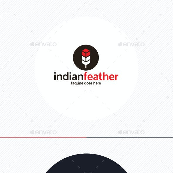 Indian Feather Logo