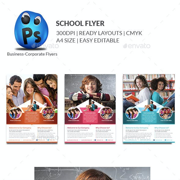 Education Flyer Print Templates